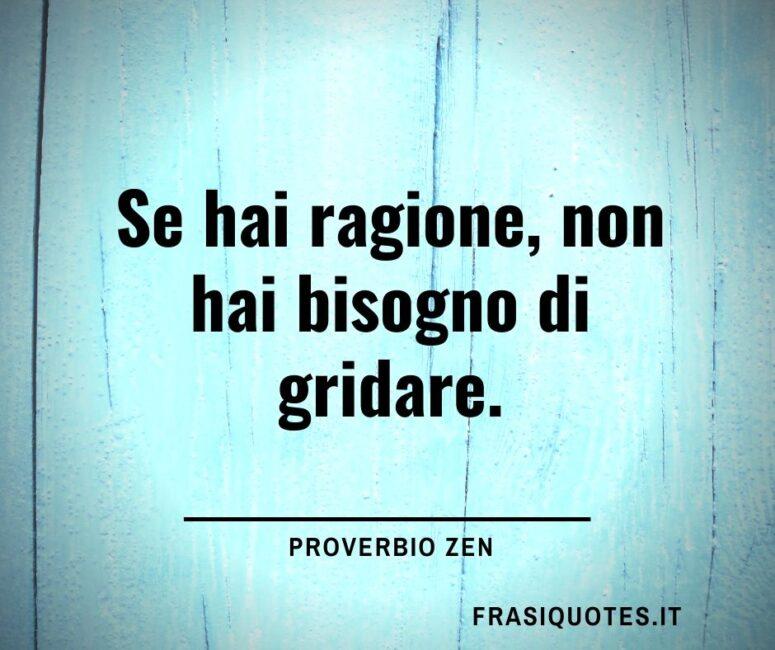 Proverbio Zen Citazioni Sagge