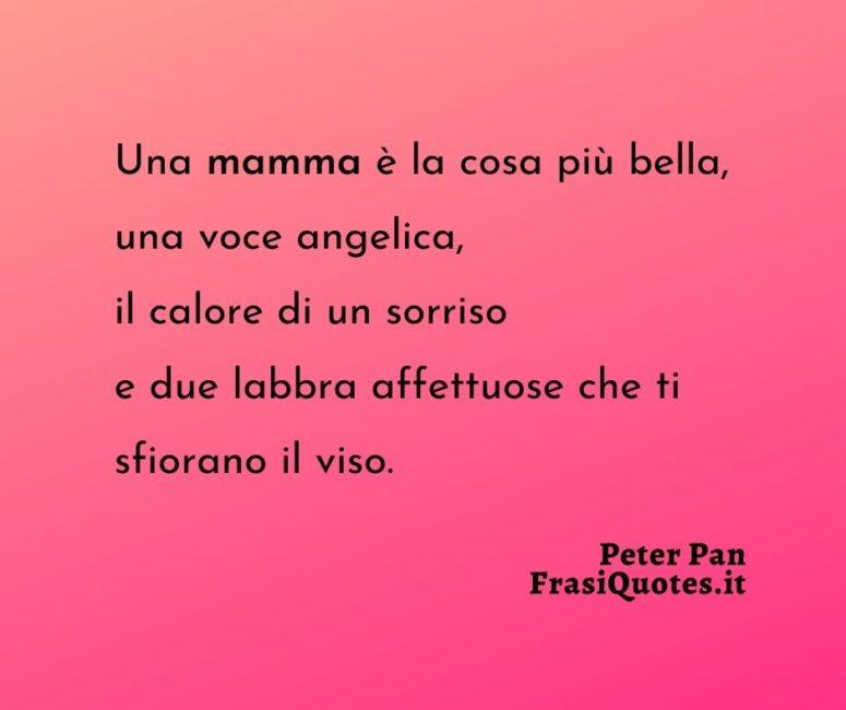 Citazioni Mamma _ Frasi di Peter Pan