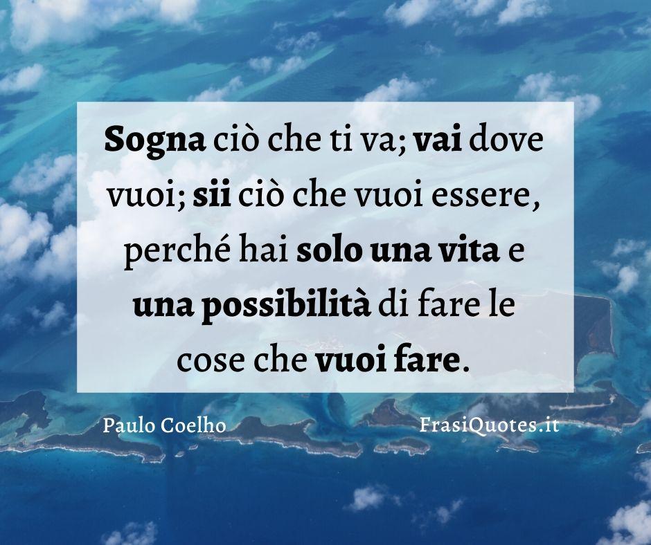 Paulo Coelho vivere la vita