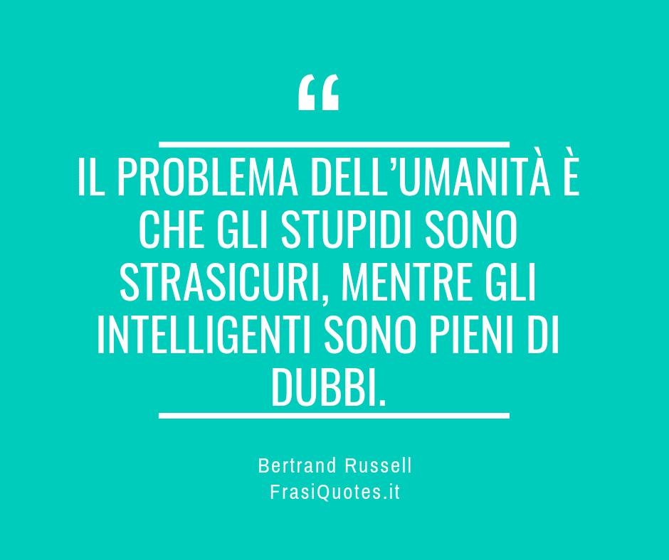 Frasi Vita - Bertrand Russell