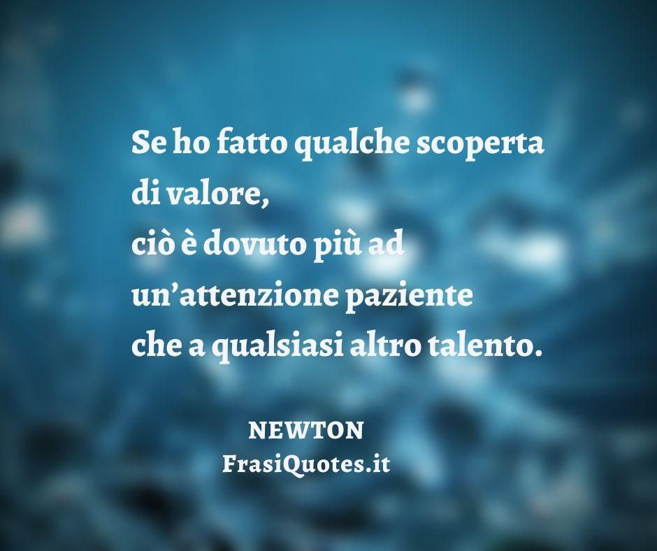 Isaac Newton | Frasi sulla pazienza