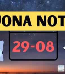 Buonanotte 29 agosto 2021 - Frasi Buona serata