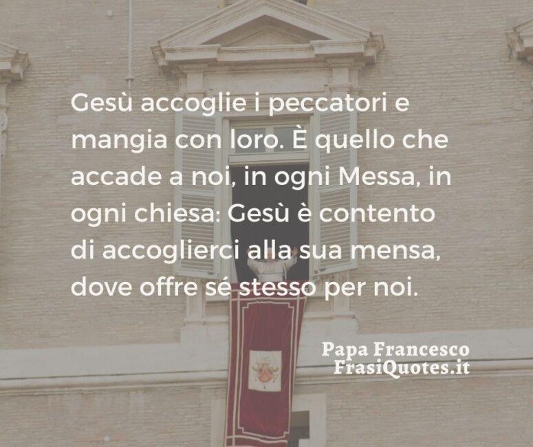 Citazioni belle Papa Francesco