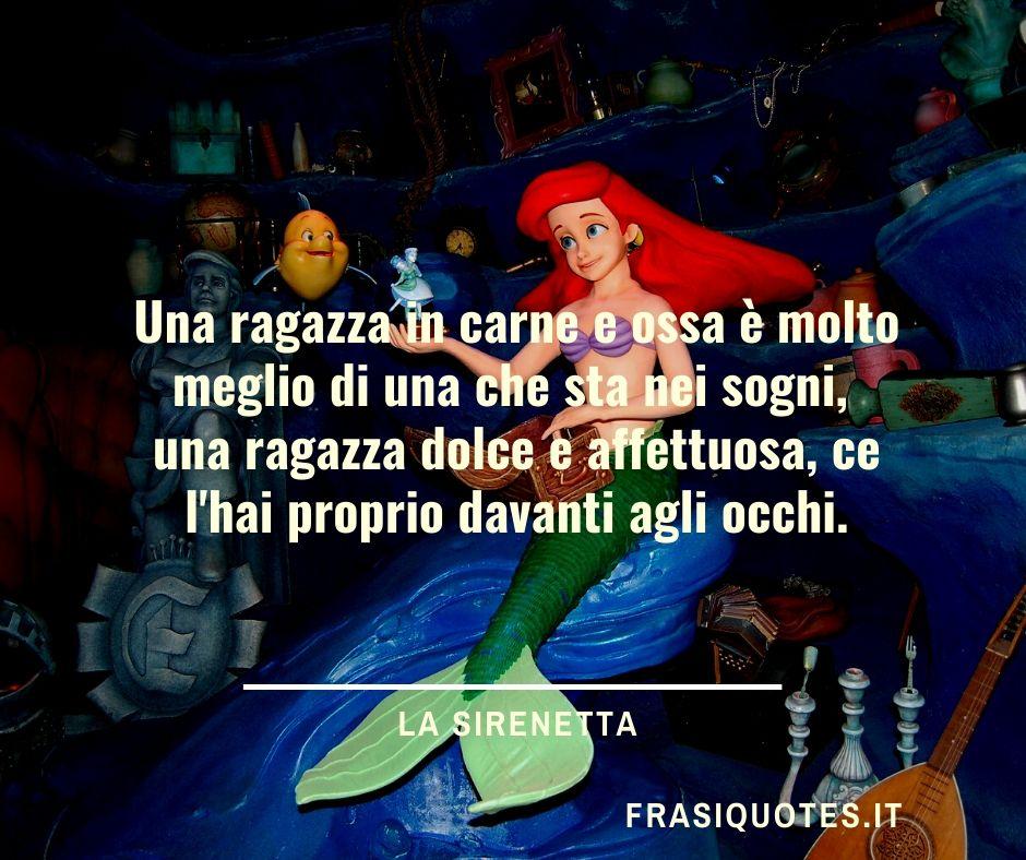 Frasi la Sirenetta Walt Disney
