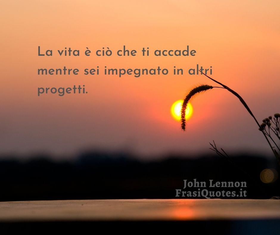 Frasi sulla vita John Lennon
