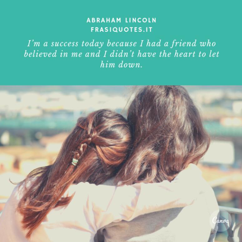 Frasi amicizia in inglese