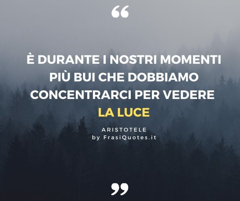 Aristotele Frasi Sulla Vita