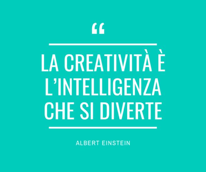 Albert Einstein Frasi con immagini sulla creatività