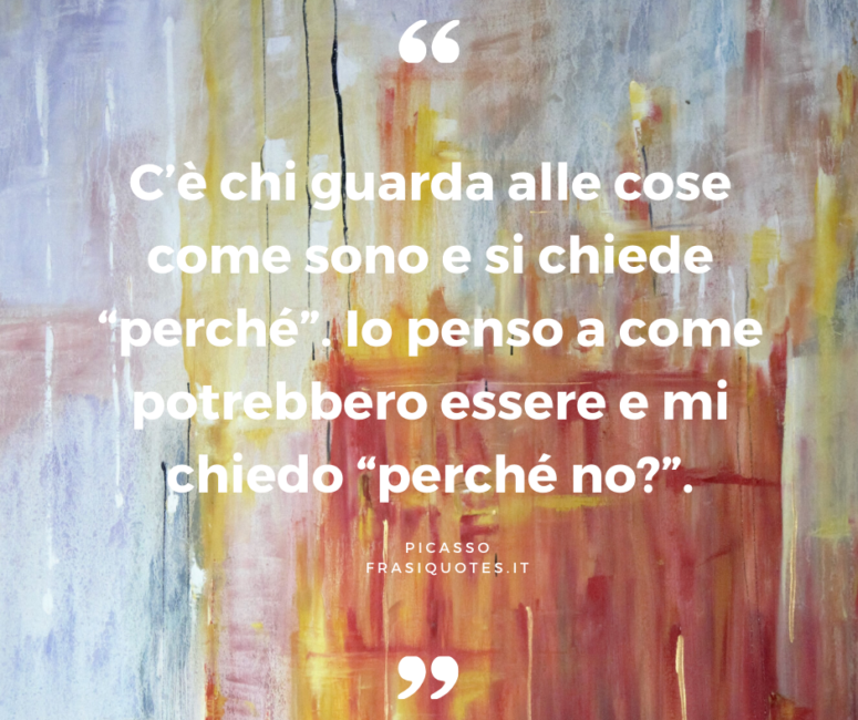 Pablo Picasso | Frasi Celebri