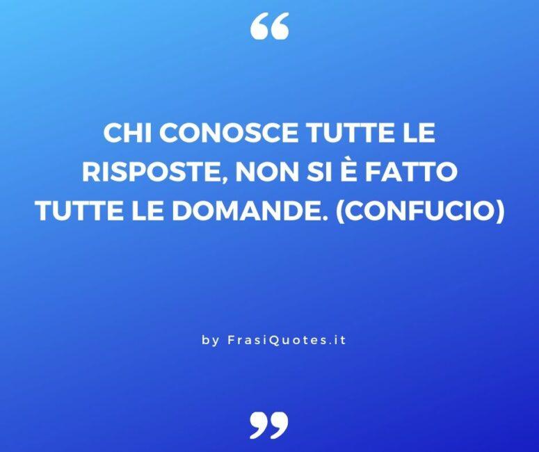 Confucio Frasi sulla Vita
