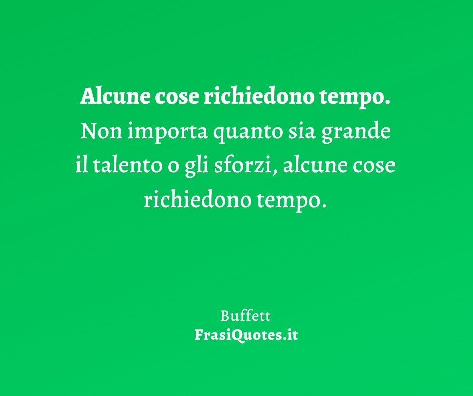 Buffett | Frasi Vita