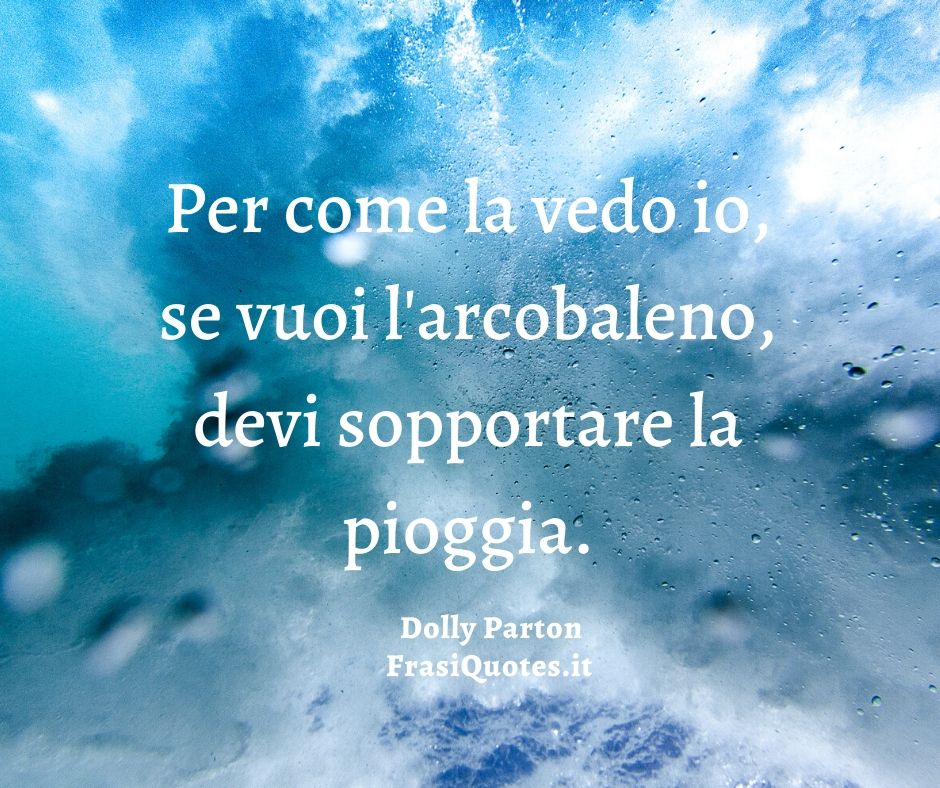 Dolly Parton | Frase del Giorno