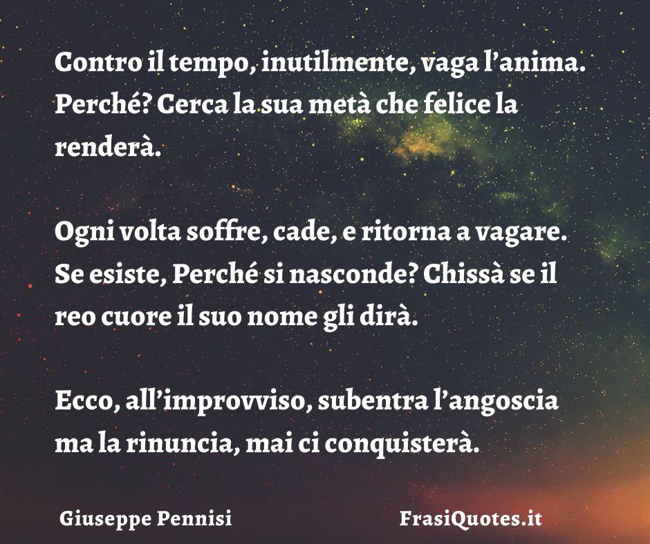 Poesia sull'amore | L'anima gemella | Giuseppe Pennisi