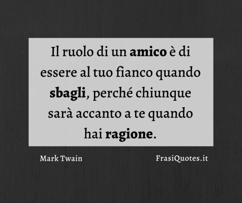 Frasi amicizia Mark Twain