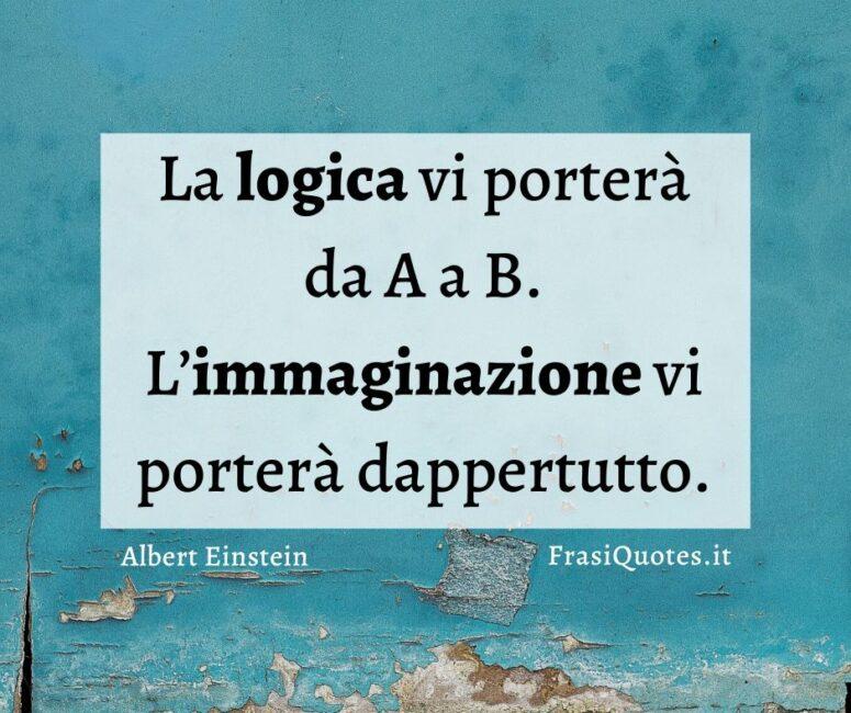 Frasi belle Albert Einstein
