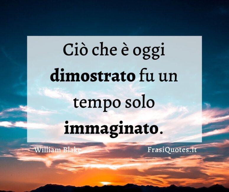 Frasi belle immaginazione