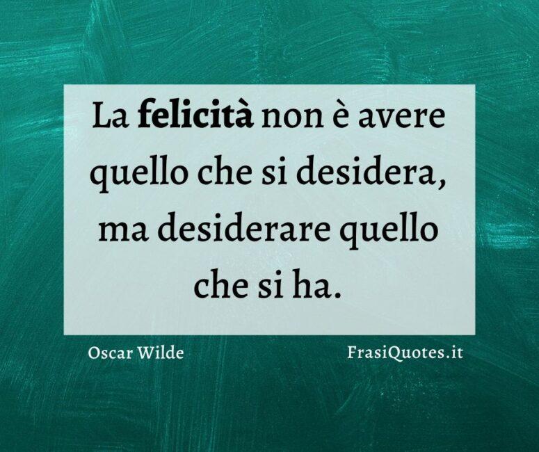 Frasi felicità Oscar Wilde
