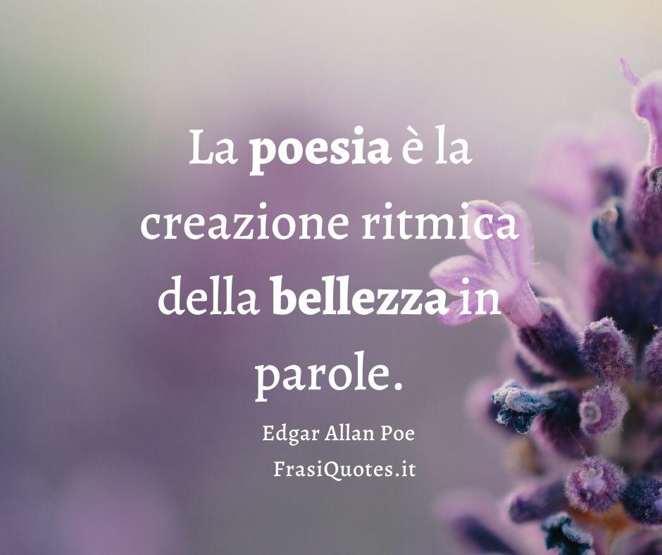 Edgar Allan Poe La Poesia Frasi Sulla Vita