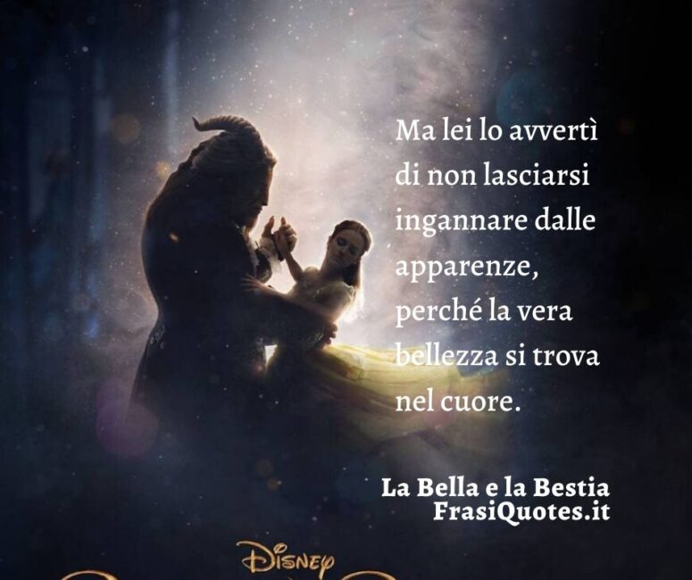 La Bella E La Bestia Frasi Sulla Vita
