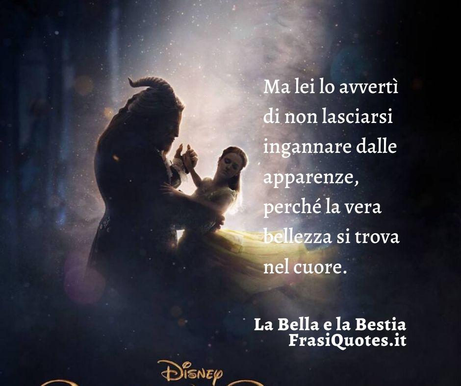 La vera bellezza | Frasi La Bella e la Bestia | Frasi belle sull'amore