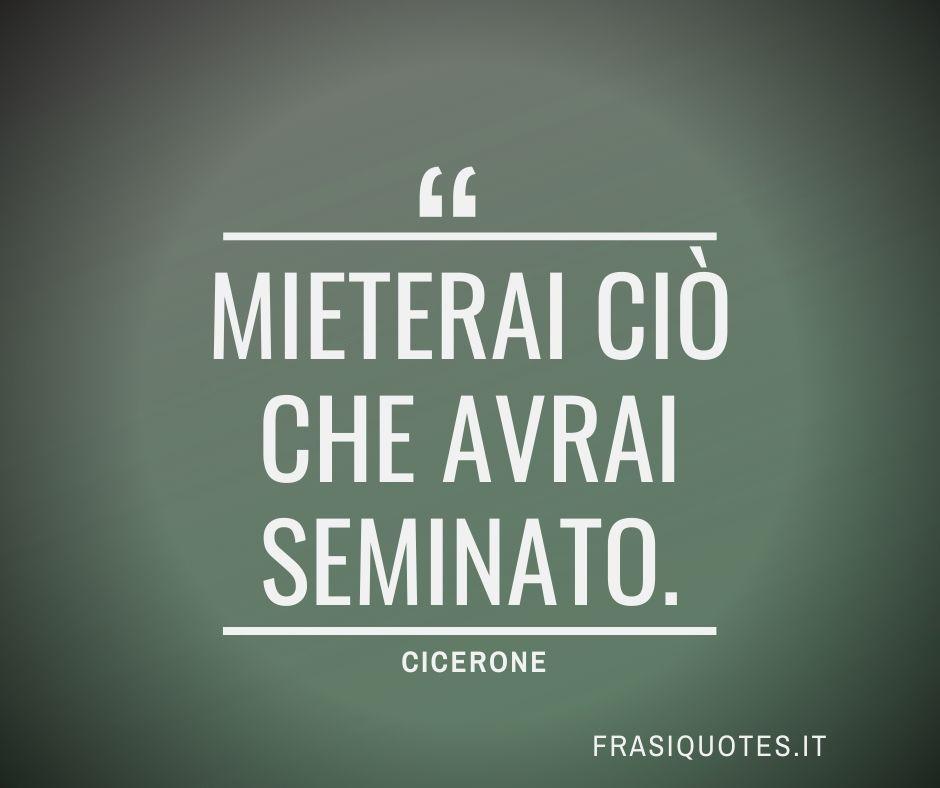 Frase Latina Famosa di Cicerone Bella