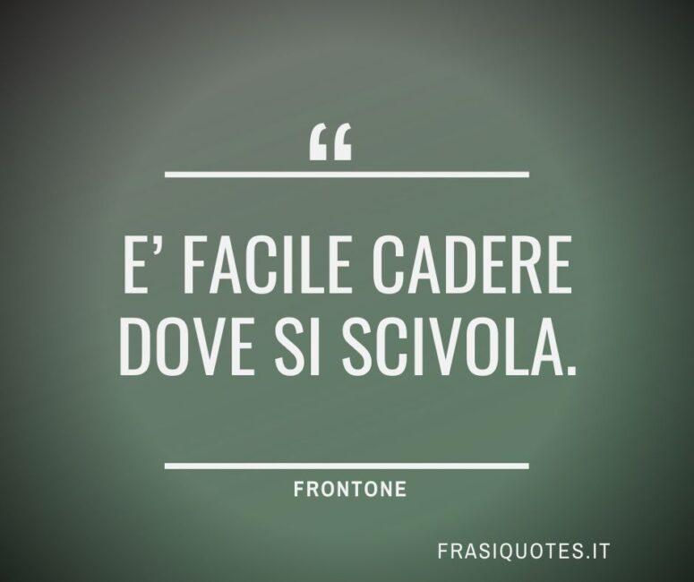 Citazioni Latine Belle Frontone