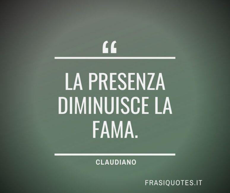 Citazioni Latine Famose - Claudiano Frasi Belle
