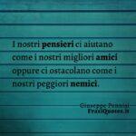 Frasi Tumblr corte | Frasi sui pensieri | Giuseppe Pennisi