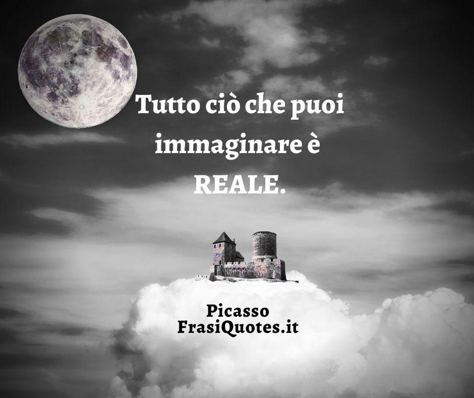 Pablo Picasso | Frasi sull'immaginazione