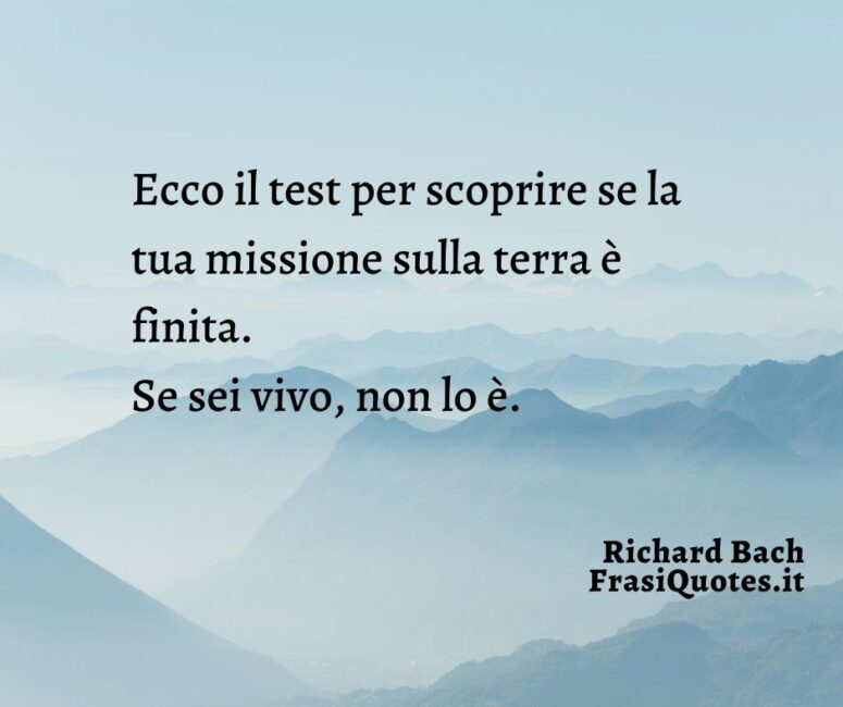 Richard Bach _ Frasi per post su Instagram