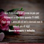 Frasi San Valentino | Frasi amore immenso | Frasi Tumblr | Frasi Instagram