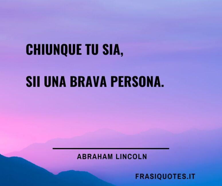 Abraham Lincoln Citazioni Belle