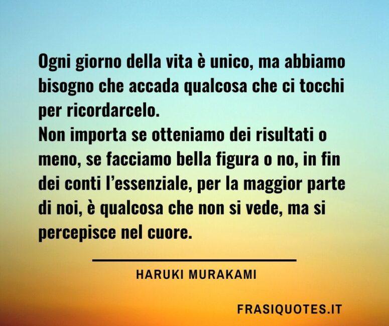 Haruki Murakami Frasi Sulla Vita