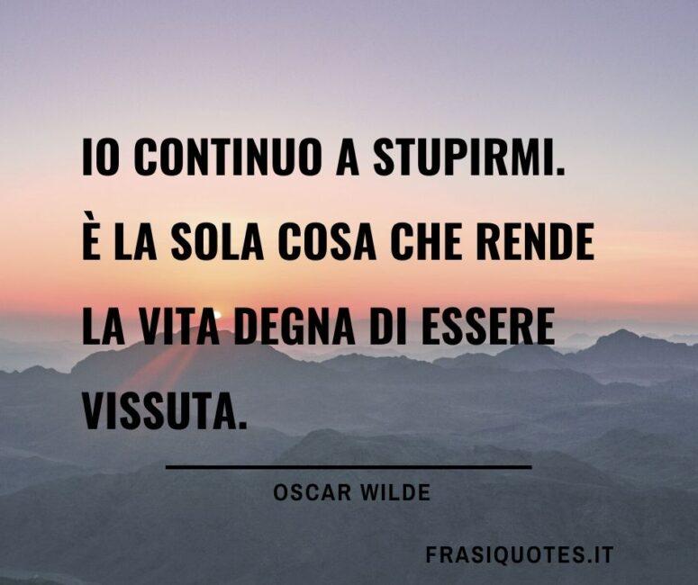 Oscar Wilde citazioni belle sulla vita
