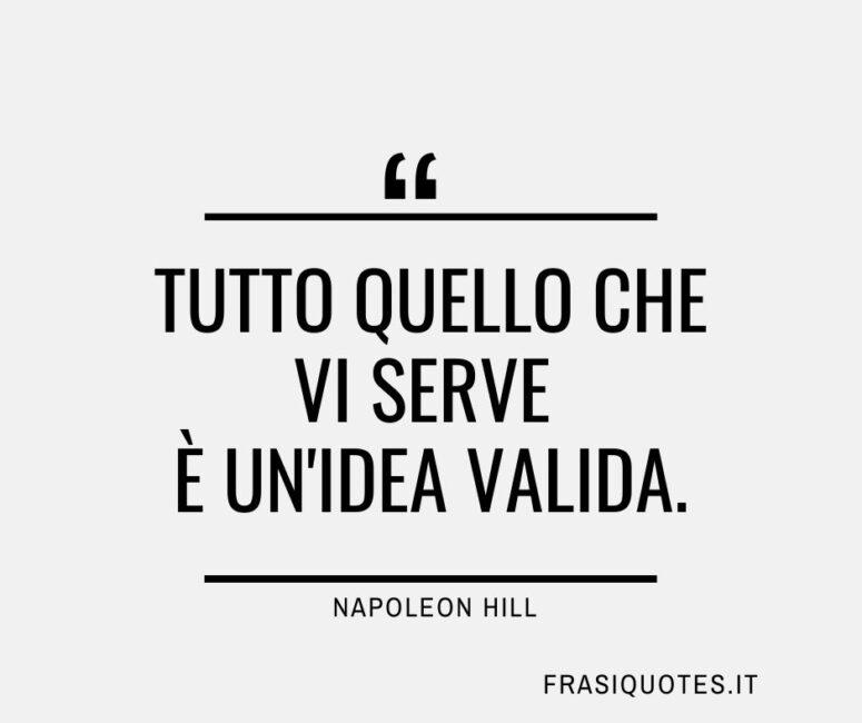 Citazione Napoleon Hill