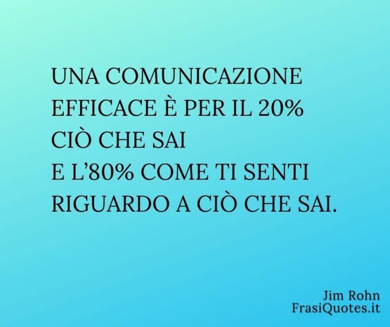 Frasi belle sulla comunicazione efficace