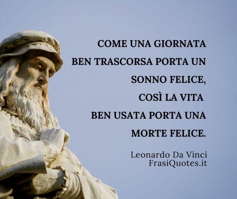 Frasi Leonardo Da Vinci sulla Vita