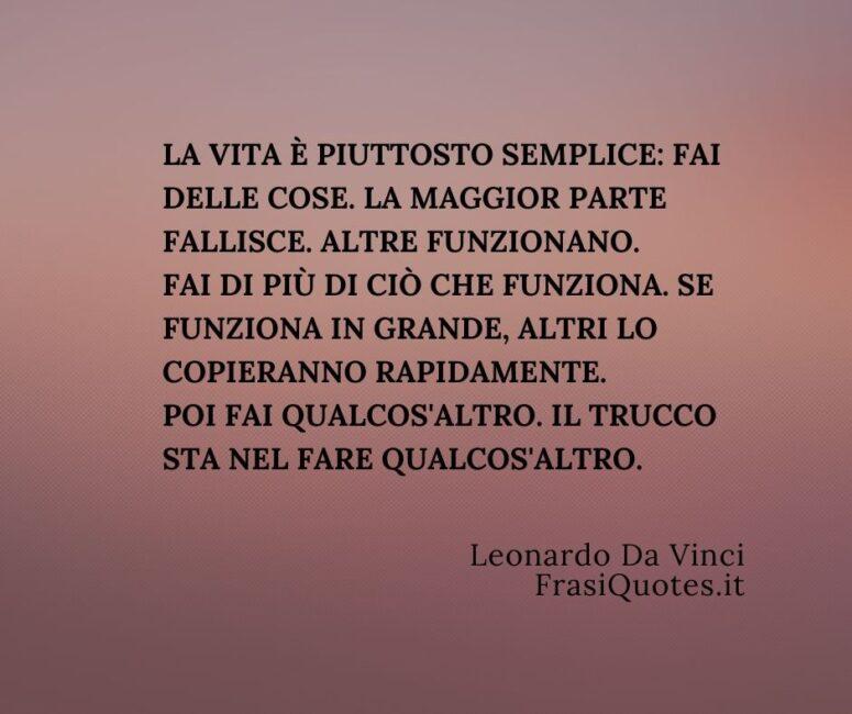 Frasi sulla Vita e il Lavoro _ Frasi Leonardo