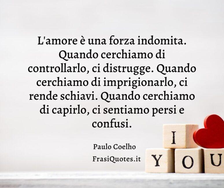 Frasi profonde d'amore Paulo Coelho